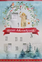 Adventskalenderkarte - Achtsame Adventszeit