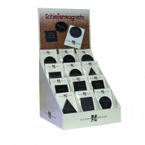 Display SchieferMagnete