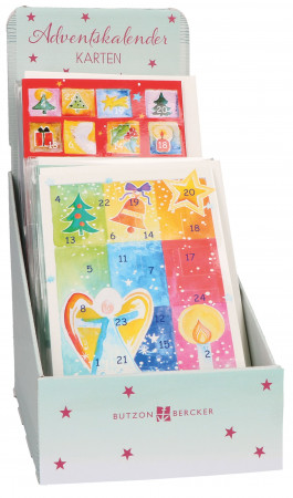 Display - Adventskalender-Karten