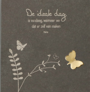 "Schieferrelief ""De ideale dag"""