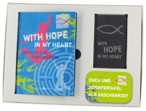 Geschenkset zur Konfirmation: With hope in my heart