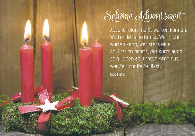 Wünsche Adventszeit