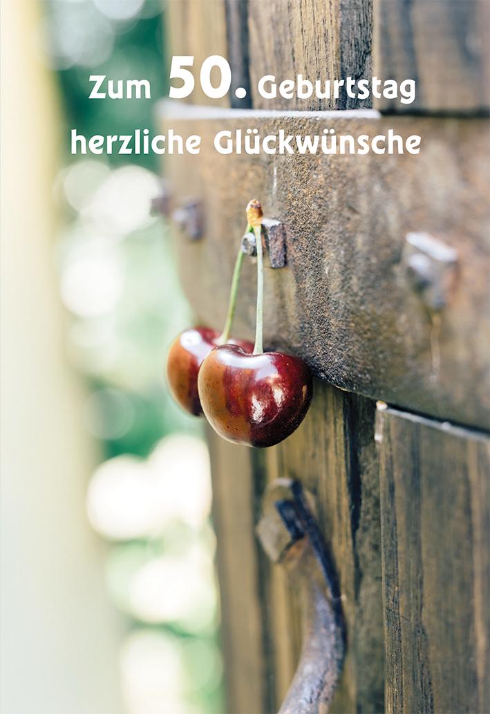 Gluckwunschkarte Zum 50 Geburtstag Herzliche Gluckwunsche