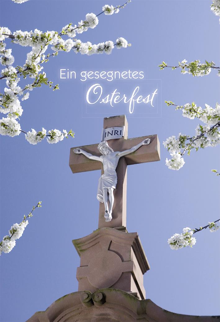 Klappkarte Ein Gesegnetes Osterfest