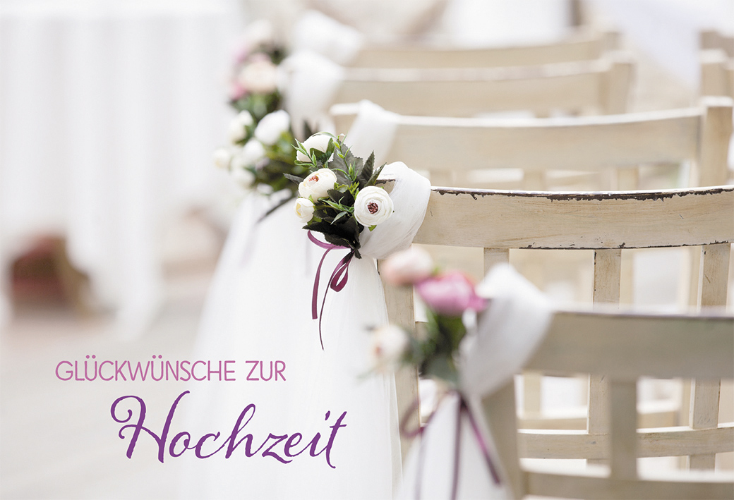 gl ckwunschkarte gl ckw nsche zur hochzeit. Black Bedroom Furniture Sets. Home Design Ideas