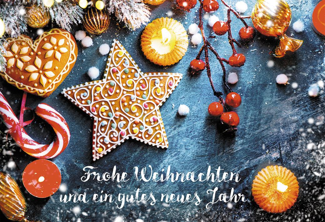 Bilder Weihnachten Neues Jahr.Glückwunschkarte Frohe Weihnachten Und Ein Gutes Neues Jahr