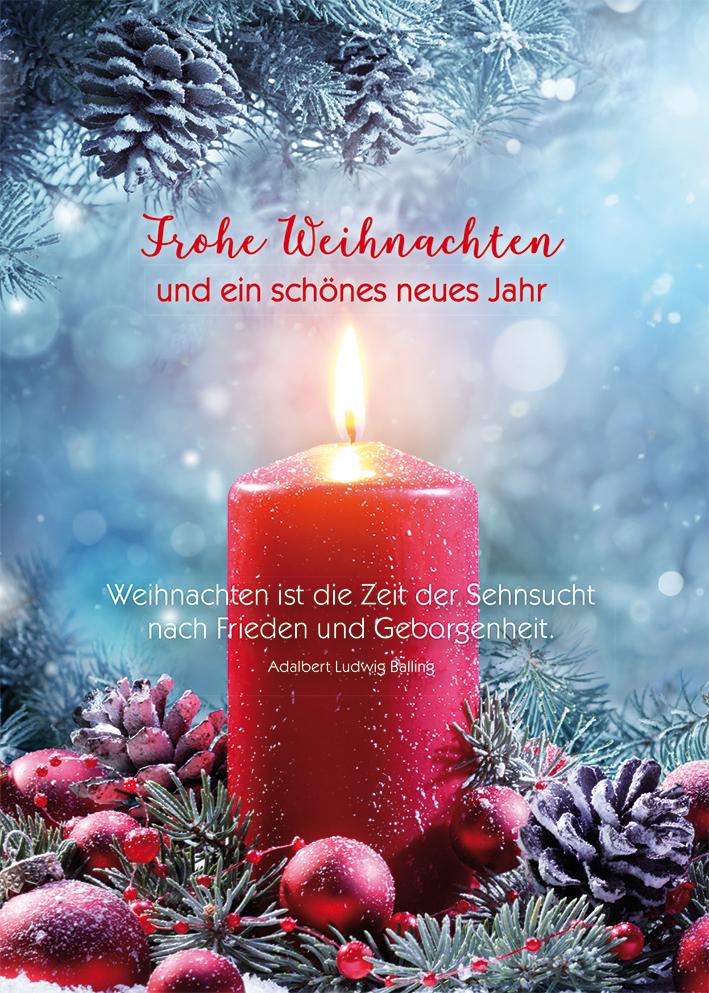 Frohe Weihnachten Und Schönes Neues Jahr.Postkarte Frohe Weihnachten Und Ein Schönes Neues Jahr