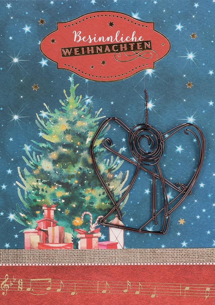 Besinnliche Bilder Weihnachten.Glückwunschkarte Besinnliche Weihnachten