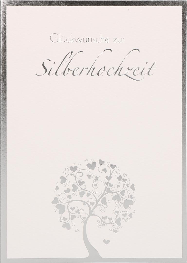 Glückwunschkarte Glückwünsche Zur Silberhochzeit