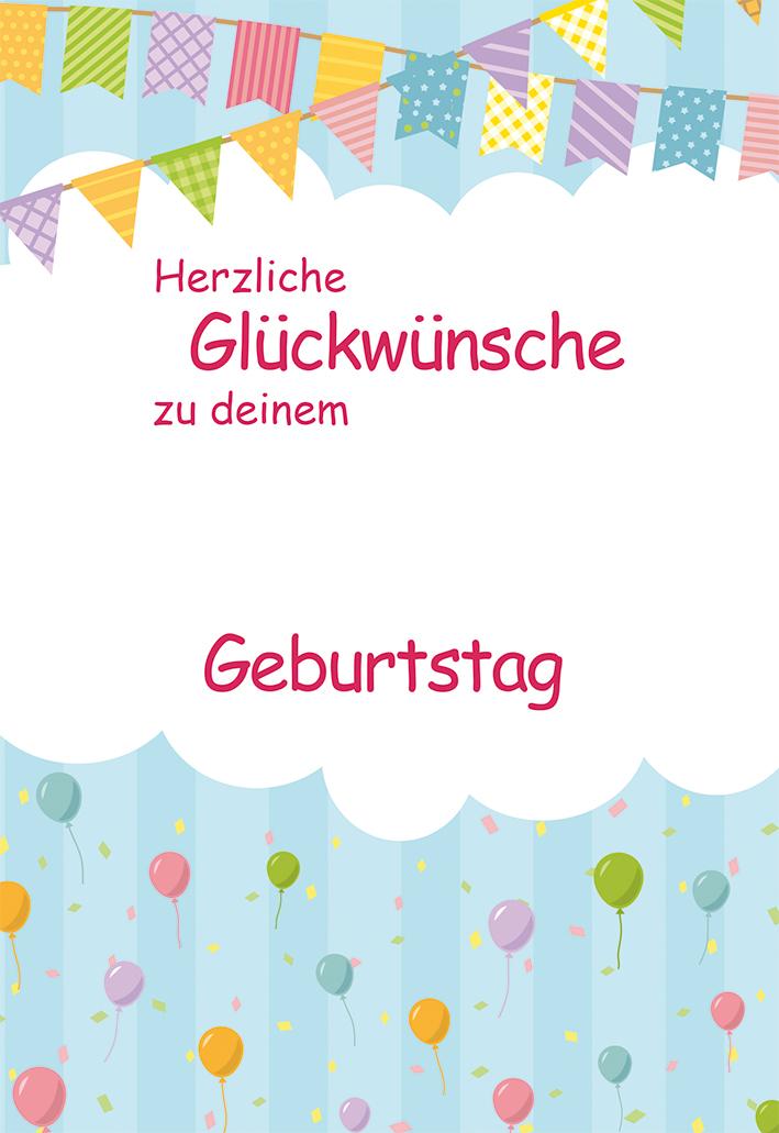 Herzliche Glückwünsche Zu Deinem Geburtstag