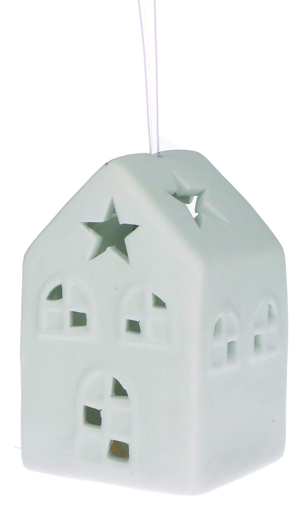 LichterZeit Haus aus Porzellan