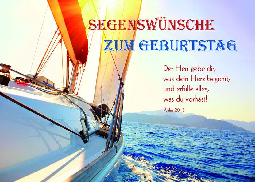 postkarte segenswünsche zum geburtstag