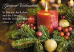 Postkarte Gesegnete Weihnachten