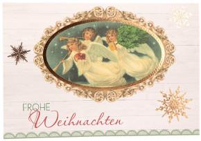 Glückwunschkarte zu Weihnachten Frohe Weihnachten